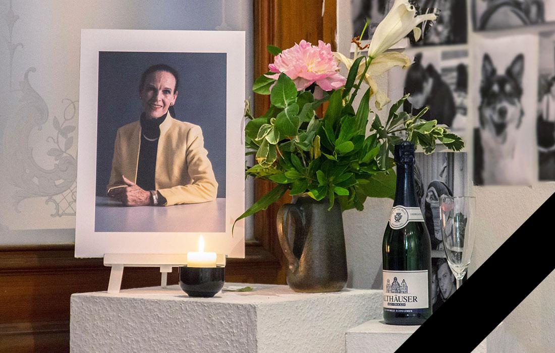 Gisela Siegel verstorben im Juni 2016