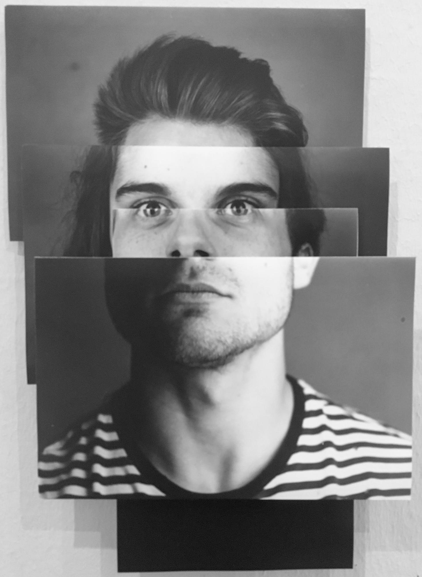 Kathi - Die Symbiose.  Das Portrait des Schülers formt sich aus dem Kollektiv der Klasse. Durch unterschiedliche Blickwinkel und Ideen, Experimente und Anstöße, entwicklet sich der persönliche Künstler-Charakter.