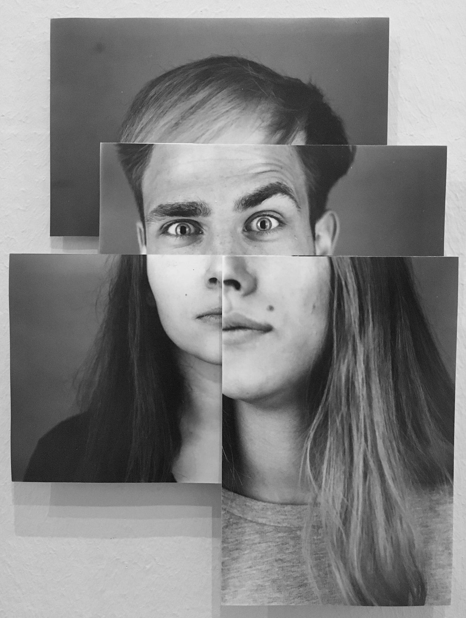 Analoge Bilder-Serie als Collage zusammengesetzt.